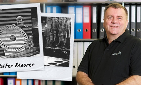 Walter Maurer von den Anfängen von Waterjet bis heute